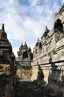 borobudur - java - indonesie 33