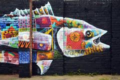 Streetart (Birmingham Phil) Tags: streetart graffiti cool stencil birmingham graf westmidlands birminghamuk digbeth custardfactory canz cityofcolours