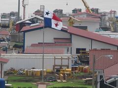 """Canal de Panama: le drapeau du Panama <a style=""""margin-left:10px; font-size:0.8em;"""" href=""""http://www.flickr.com/photos/127723101@N04/27263586641/"""" target=""""_blank"""">@flickr</a>"""