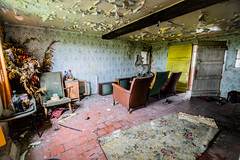 For Sale: Spacious and Fully Furnished... (Andrew Gibson.) Tags: heritage abandoned broken architecture wasted dark tv chair ruins factory decay background empty grunge ruin landmark dirty dirt aged waste forsaken decrepit damaged desolate derelict frontroom deserted ramshackle grungy ruined decrepid urbex shabby desolated frozenintime nantwich dererted dreamcottages sonya7ii ilce7m2