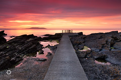 Sunrise at High Rock, Portmarnock , Ireland (Frederick Bancale) Tags: ireland dublin sunrise rocks seascapes malahide highrock portmarnock