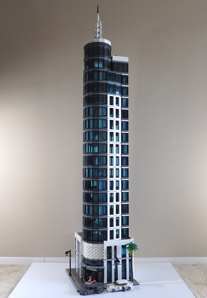 One Azure Hotel & Suites (wooootles) Tags: plaza building tower ...