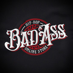 Bad Ass (Abel Snchez.) Tags: logo typography design graphicdesign badass letters hiphop lettering brand logotype goodtype