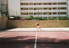 (Ian Justice) Tags: ianjustice uk sheffield europe spain costablanca benidorm roam travel tennis 35mm
