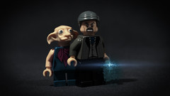LEGO Barty Crouch Senior & Winky (Geertos13) Tags: house senior lego magic ministry harry potter spell elf junior custom crouch vfx winky minifigure customize barty bartemius