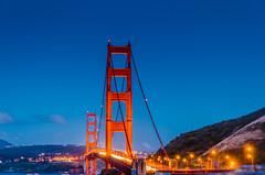 San Francisco - California - June 2016 (scaturchio) Tags: ocean sanfrancisco california city bridge sunset sea usa west cars june cali skyline night clouds lights nikon san francisco pacific cloudy goldengatebridge goldengate westcoast pacificcoast 2016 d7000