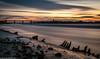 Wigg Island (2 of 3) (andyyoung37) Tags: uk sunset cheshire runcorn boatwreck rivermersey runcornbridge