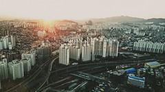 Seoul Sunrise (kunochen) Tags: seoul korea sindorim dcubecity sheraton spg hotel sunrise city phonephotography sony xperia