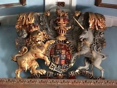 Honington, Warwickshire (Sheepdog Rex) Tags: royalarms allsaintschurch honington