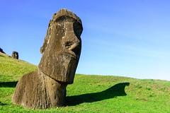 Quarter Profile (Rice Bear) Tags: chile moai easterisland rapanui hangaroa ranoraraku
