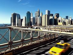Most Iconic View of NYC (Armin Hage) Tags: nyc newyorkcity manhattan brooklynbridge newyorktaxi eastcoastroadtrip arminhage fiveyearsinunitedstates