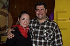 2.- Katy Silva de Elizondo y Omar Elizondo.
