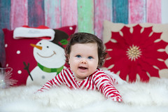 Lara's First Christmas (3.4 Million Views www.DelensMode.com) Tags: christmas new xmas nyc portrait holiday ny studio season children nikon spirit nj first jersey cheerful tis hackensack 2014 maywood delensmode