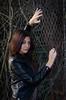 DSC_4792 (TimMurphyPhotography) Tags: girl leather model badass jacket bikini brunette cheyenne bikinimodel