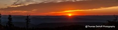 Dolly Sods sunrise Panorama_ (Thomas DeHoff) Tags: panorama west sunrise virginia sony dolly sods a700