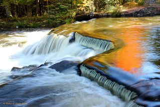 Fall Reflections on the Rapids