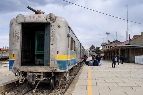 Tren al salar
