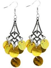 Sunset Sightings Yellow Earrings P5820A-5