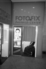 FotoFix [analog] (__J) Tags: blackandwhite bw berlin film analog photobooth scan scanned sw analogue yashica neukölln selfdeveloped fotoautomat yashicat4 fotofix schwarzweis adox adonal selbstentwickelt adoxadonal