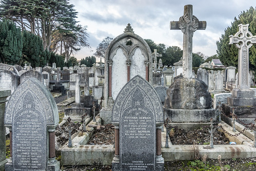 Mount Jerome Cemetery & Crematorium is situated in Harold's Cross Ref-100488