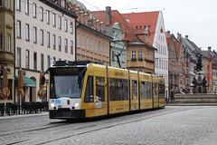 AVG (Augsburg) tram 856 (jc_snapper) Tags: siemens tram streetcar augsburg strassenbahn avg combino