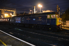 No 47580 County of Essex 6th Dec 2014 Ipswich (Ian Sharman 1963) Tags: county west station train newcastle coast diesel no engine rail loco class dec norwich locomotive tours railways essex duff 47 ipswich 6th 2014 47804 nenta 1z16 47580