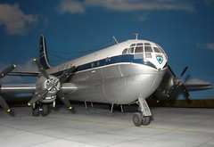 Boeing B 377 Stratocruiser (modelldoc) Tags: plastic kit boeing academy 172 boac stratocruiser