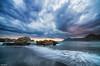 Dramatic Sunset (Legi.) Tags: sunset clouds atardecer nikon cloudy tokina nubes cartagena 116 d600 portmán playadellastre