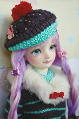 Martina is here! (Purple  Enma) Tags: pink color cute girl ball asian colorful doll dolls kei candy super fairy cupcake kawaii bjd resin yu decora dollfie volks martina spank jointed morisawa sdgr