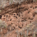 Milhares de tumbas escavadas na montanha