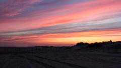 IMG_4800 (Leif Hinrichsen) Tags: sunset summer beach strand denmark island sonnenuntergang sommer insel northsea dänemark danmark nordsee abendhimmel sandstrand rømø röm nordseeinsel