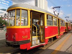 Konstal 13N, #599, Tramwaje Warszawskie (transport131) Tags: warszawa tramwaj tramwaje konstal