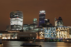 London Night Skyline - Explored (R.K.C. Photography) Tags: city uk england sky london night lights canoneos1100d