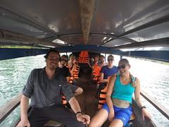 Photo de 14h -  Avec Maxime et Anaïs à Phong Nha - 30.11.2014
