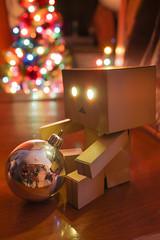 Happy Holidays (Grishnàkh) Tags: christmas lights holidays manga christmastree christmasballs figure yotsubato yotsuba danbo danboard
