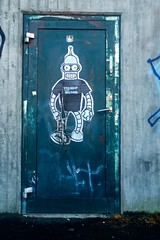 Lemus (motveggen) Tags: streetart pasteup bergen lemus gatekunst streetartbergen