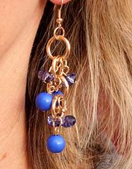 Glimpse of Malibu Blue Earrings K1 P5710-1