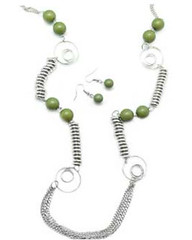 Glimpse of Malibu Green Necklace K1A P2810A-4