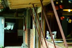菁桐碳場咖啡 (塗鴉良) Tags: 菁桐 碳場咖啡 建築百景 菁硐拍攝 洗碳場
