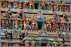 4805 -Thirumudukundram temple tower 03 (chandrasekaran a 40 lakhs views Thanks to all) Tags: india buildings structures hinduism tamilnadu templeart gopurams appar canon60d vridhachalam padalpetrasthalam sundarar templesarchitecturesscuptures thevaram sambandhar saivaism thirumuraitemples mudhukundram pazhamalai figuralgopuram
