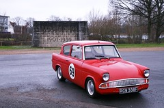 1967 Ford Anglia (davocano) Tags: brooklands 105e brooklandsnewyearsdaygathering rgw338f newyearsdaygathering2015