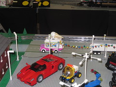 MOAH Winter Show 2014-2015 (10) (origamiguy1971) Tags: layout town lego mosaic spiderman trains superman batman palo alto ghostbusters moc walle moah baylug esseltine origamiguy origamiguy1971
