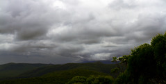 Mt Sugarloaf Storm approach (Sterling67) Tags: trees cloud mountain storm green clouds stormy mount sugarloaf stormfront