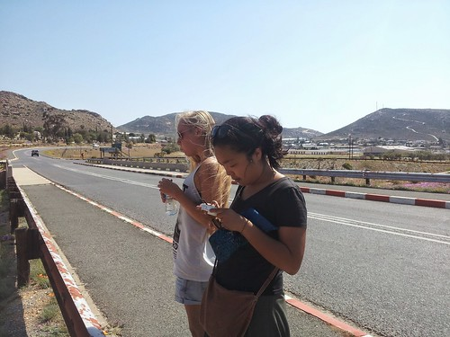 Emily et Natsuno, Springbok, Afrique du Sud
