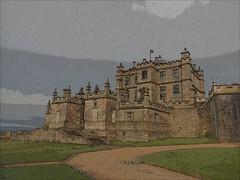 LittleCastle (Lens Perception) Tags: castle effects derbyshire cavendish cherubs bolsover englishheritage