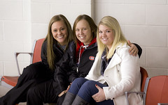 Happy Fans (rickpawl) Tags: faces smiles fans footballfans scsu hockeyfans