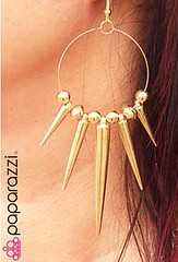 5th Avenue Gold Earrings K1 P5010-1