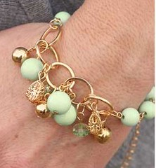 Glimpse of Malibu Green Bracelet K2 P9431-2