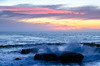 Santa Cruz sunset (dalecruse) Tags: lightroom scphoto santacruz california sunset water sea vehicle boats waves seaside seascape outside outdoor outdoors sun sunlight light flickr