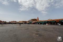 Jamaa el Fna deserta di giorno (andrea.prave) Tags: morocco maroc marocco marrakech souk marrakesh suk suq jamaaelfna   almamlaka   sq visitmorocco almaghribiyya  jmielfn tourdelmarocco